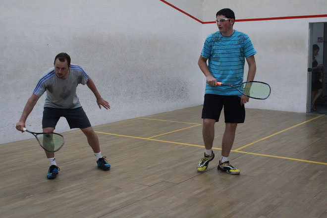 Greg Gaultier (à gauche) futur champion du Monde ? (Photo Jean-Paul Lottier)