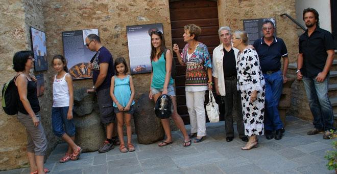 Des touristes mais aussi des insulaires s'était donné rendez-vous en nombre au fort de Matra