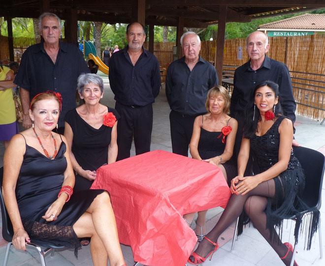 Marcela Tejeda (à droite)  : De Buenos aires à Biguglia