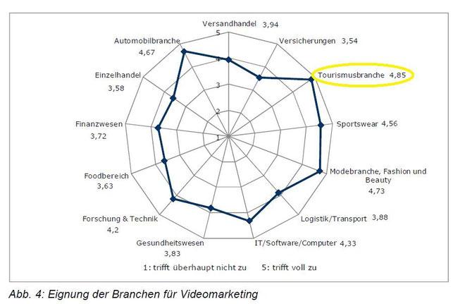 Impirische Studie zur Nutzung und Akzeptanz von Videomarketing aus Unternehmenssicht
