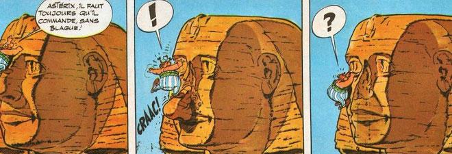 sphinx histoire des arts obélix