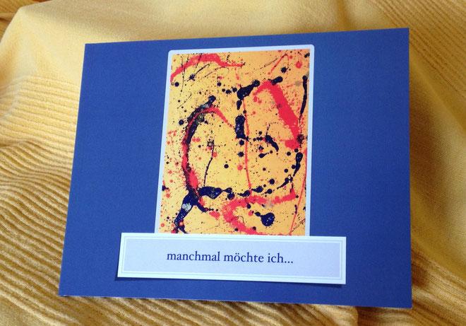 """""""Manchmal möchte ich"""" heißt der erste Gedichtband von Ursula Konder - uko. Darin vereint die Künstlerin ihre Gedichte mit Fotografien, Zeichnungen und Gemälden."""