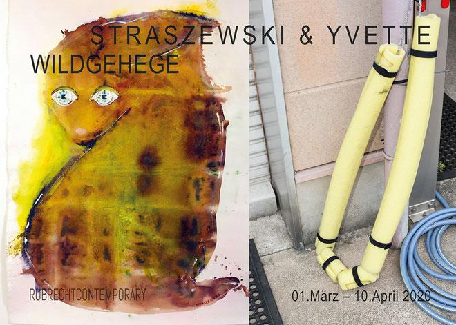 Titelbild: v.l.n.r: Christine Straszewski, ARTBASILISK, Acryl_Dispersion_Lack_Canvas, 215x160 cm, 2020; Silja Yvette, PLASTISCHE PARABEL, Fotografie, 150x100 cm, 2018