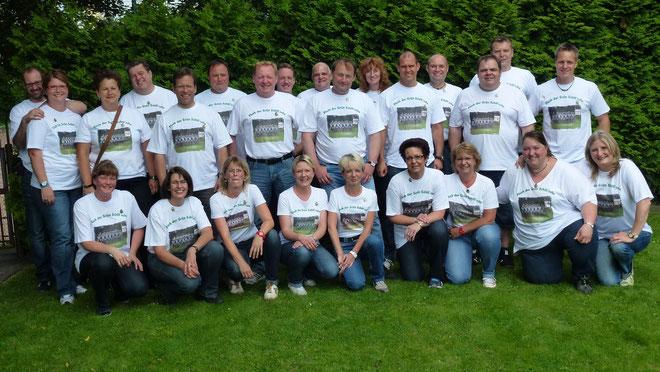 30Jahre Grün Schill`sche Offiziere Frimmersdorf am 13. Juli 2013