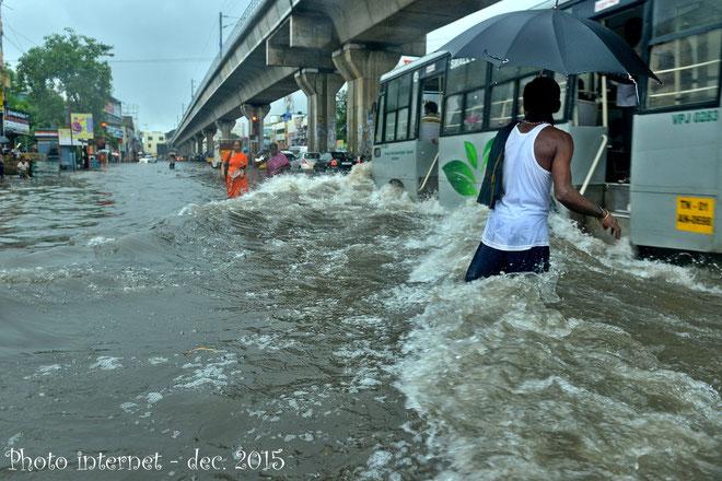 Photo prise par un inconnu à Chennai en décembre 2015
