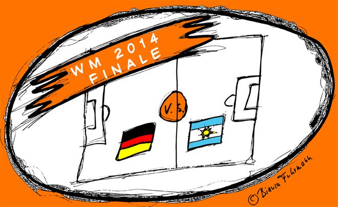 Projektmanagement - Teamwork - WM2014 Finale Deutschland gegen Argentinien - © Bianca Fuhrmann