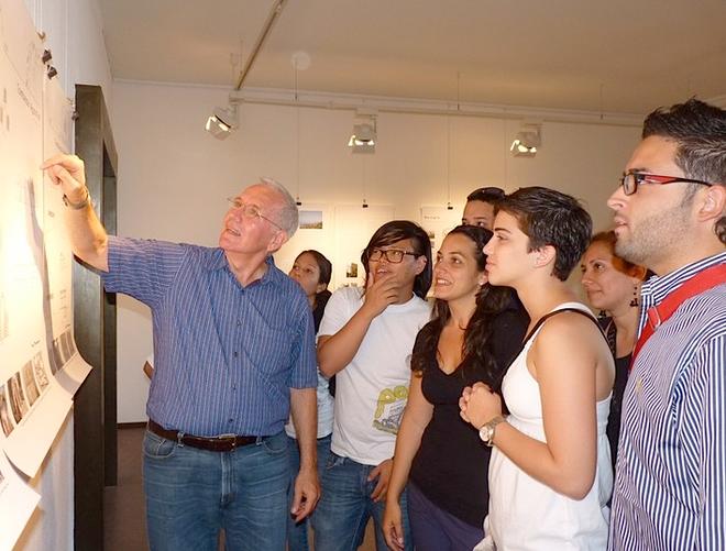 Une délégation d'étudiants portoricains conduite par Enrique Vivoni, professeur et directeur des archives de l'école d'architecture de l'Université de Porto-Rico était déja venue à Bastia l'an dernier