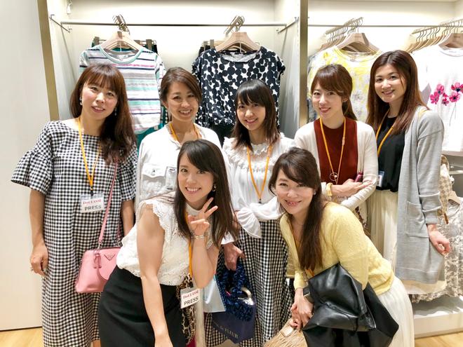 CHIZU、高橋佐知、三浦泉、沙季、佐野朱莉、井上みかこ、Miki.M、インフルエンサー招致イベント