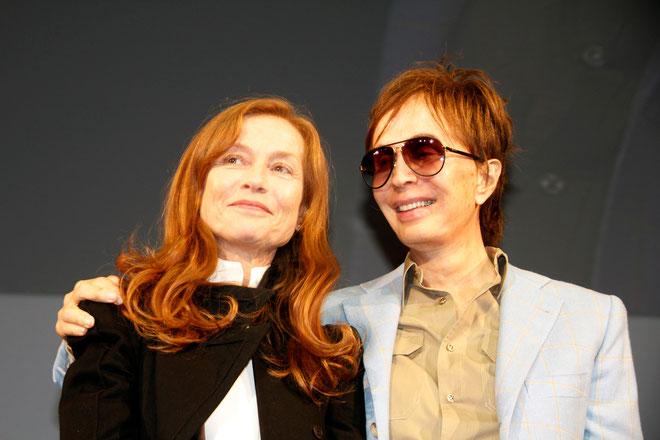 Isabelle HUPPERT et Michael CIMINO - Festival Lumière 2012 © Anik COUBLE