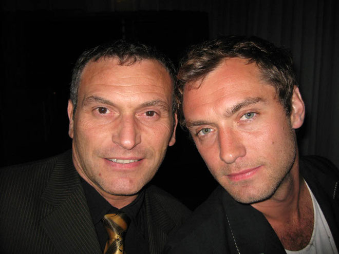 Jude Lawe et Serge Mauro - Festival de Cannes 2007 - Selfie © Serge Mauro
