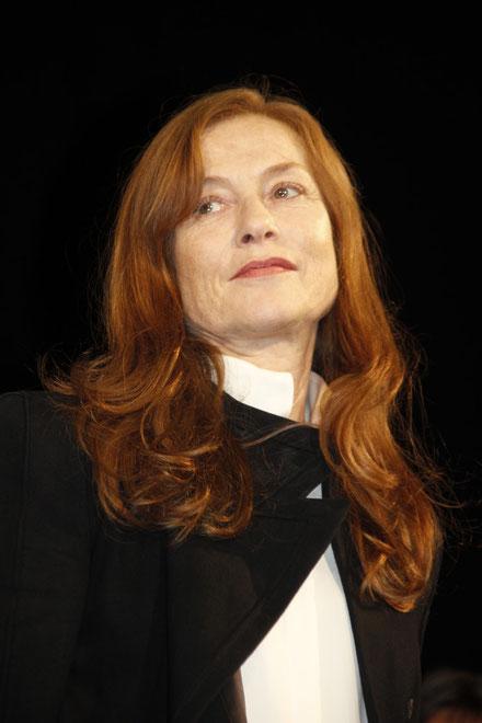 Isabelle HUPPERT- Festival Lumière 2012 © Anik COUBLE