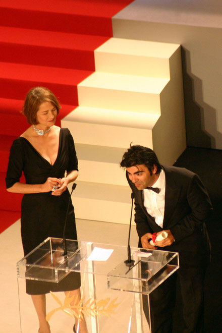 Fatih Akin  et Charlette Rampling - Festival de Cannes 2007 - Photo © Anik COUBLE