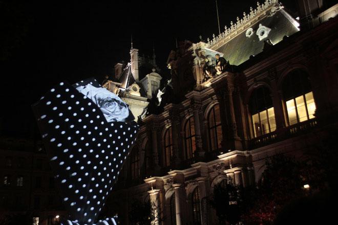 Sérénade- Place de la Bourse - Fête des Lumières - Lyon - Déc 2013 - Photos © Anik COUBLE