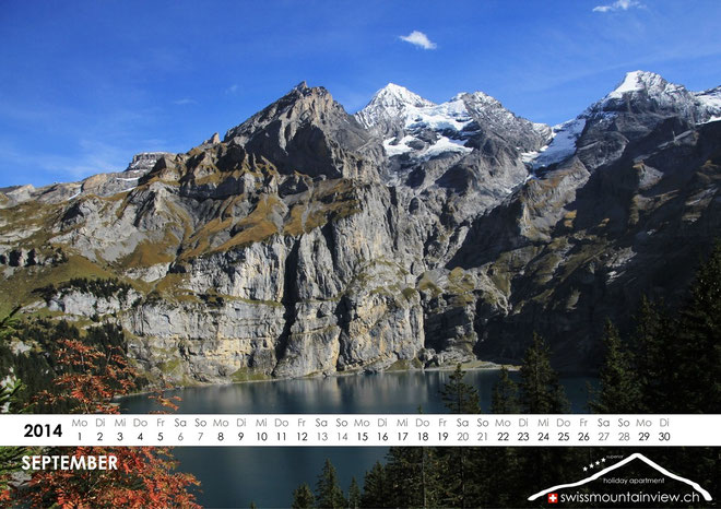 2014-09-Oeschinensee, Kandersteg, Switzerland