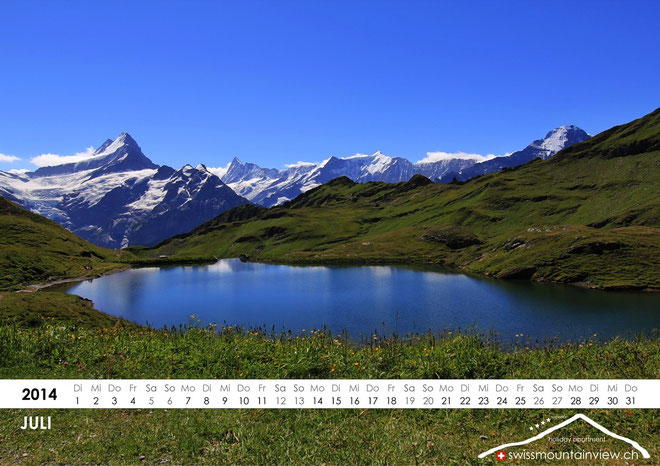2014-07-Bachalpsee, Switzerland