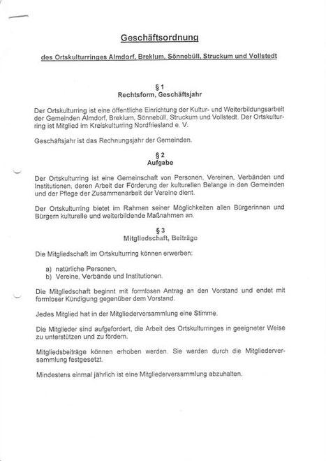 Seite 1/4 Geschäftsordnung OKR ABSSV von 2004