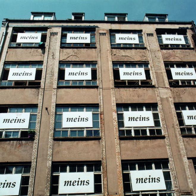 meins, Überhöflichkeit & Ineffizienz, 1995, copyright chantal labinski &laura pearsall, berlin
