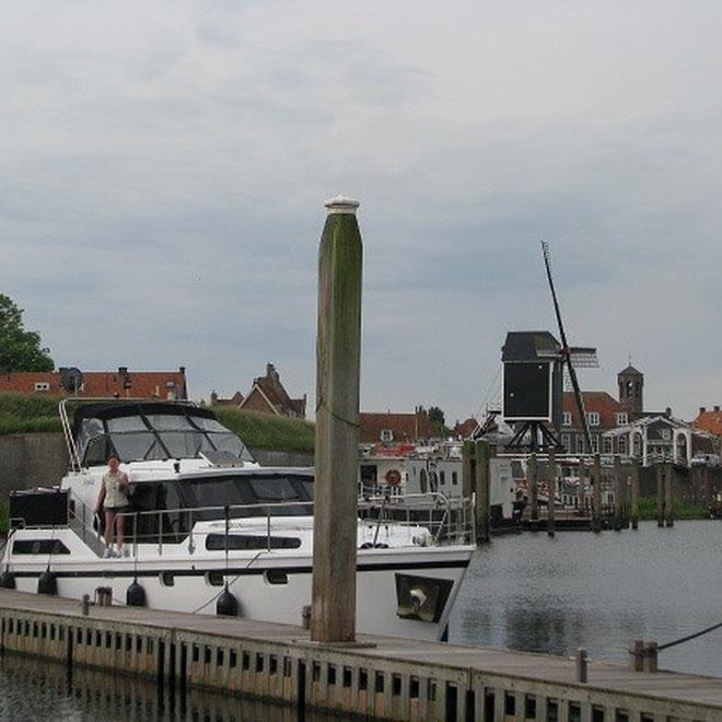 Der gemütliche Hafen von Heusden.