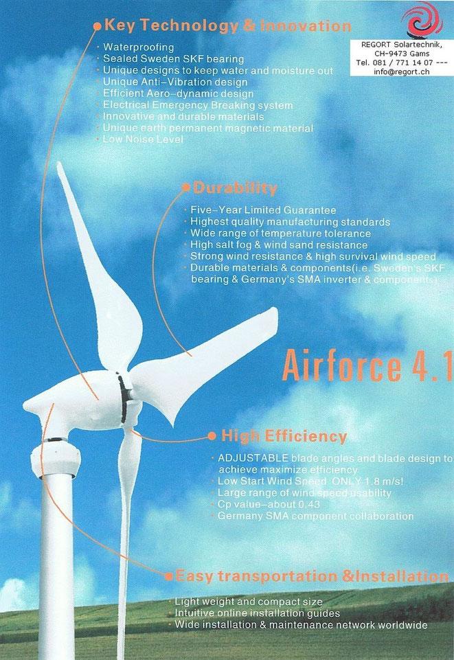Wind Turbine Airforce 4.1