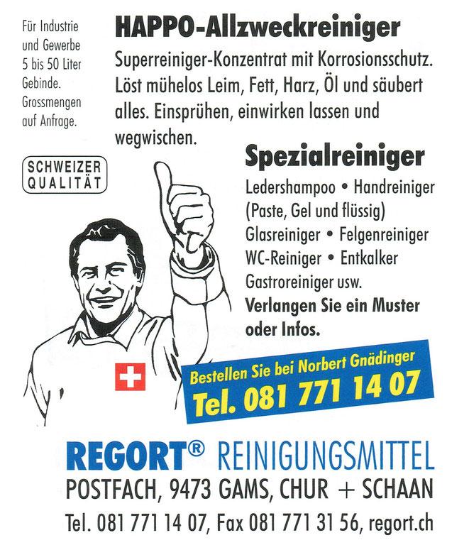Happo Allzwckreiniger von Regort