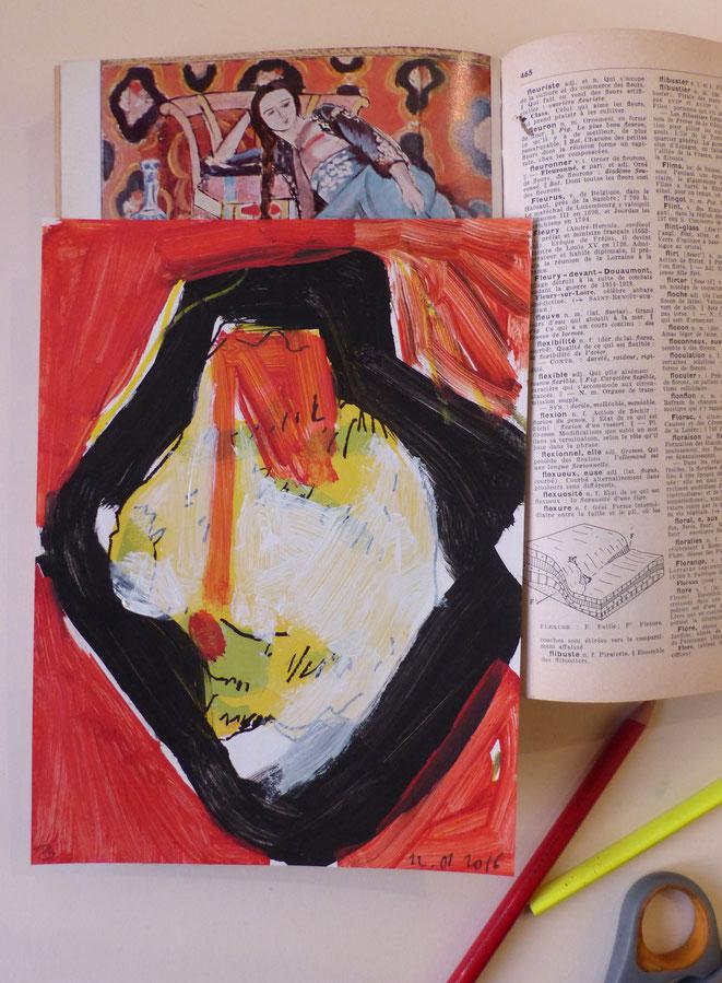 Vue d'atelier aux odalisques. Matisse, Larousse et moi