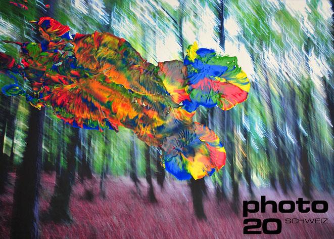 Foto: Andreas Ender, photo-art+painting | das Konzept wurde 2020 in Zürich auf der photo20 ausgestellt.