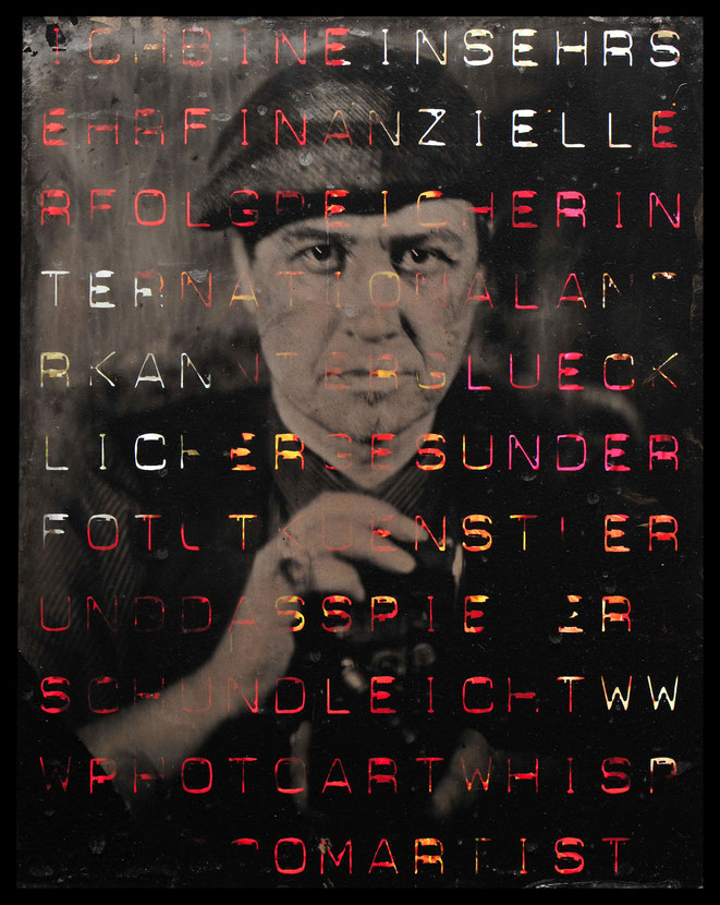 Ferrotypie / Kollodium: Peter Michels - Fotokultur.ch | 2017 ::: Gestaltung: Andreas Ender | 2018