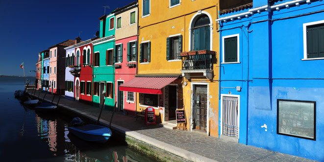 Foto: Andreas Ender, photo-art+painting | Burano - 80x40cm, Aludibond - Edition of 3 - 610,00€