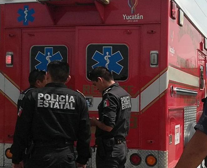 En estado inconsciente la rescatan de una alberca en el puerto de Chelem.