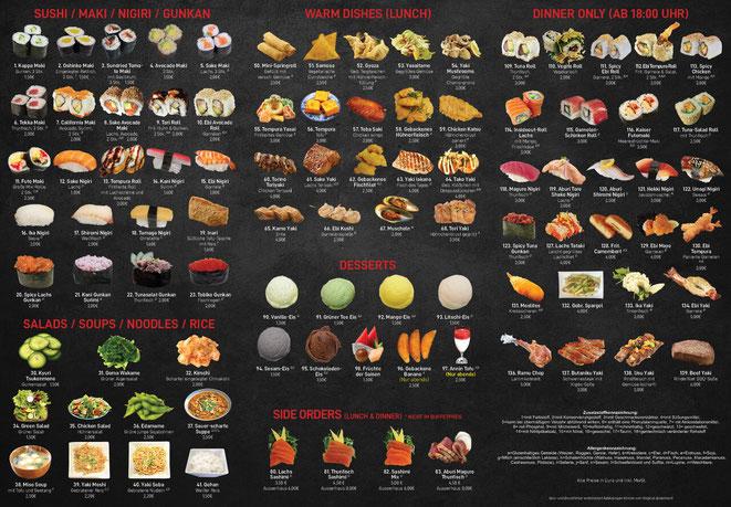 All-you-can-eat mit iPad Fukuya Lörrach