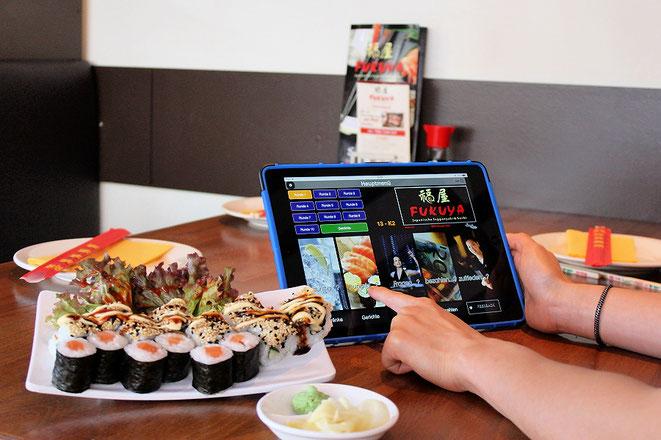 iPad Tablet - senden Sie Ihre Bestellung direkt in die Küche