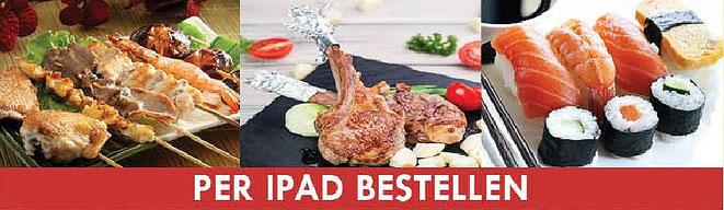 Allyoucaneat mit dem iPad bestellen