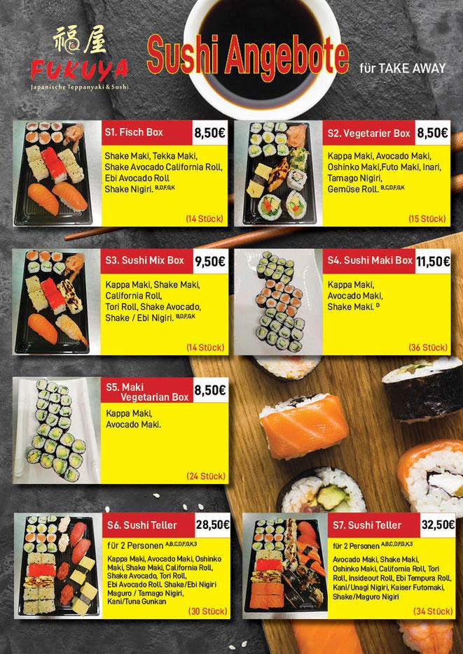 Sushi zum Mitnehmen in Lörrach