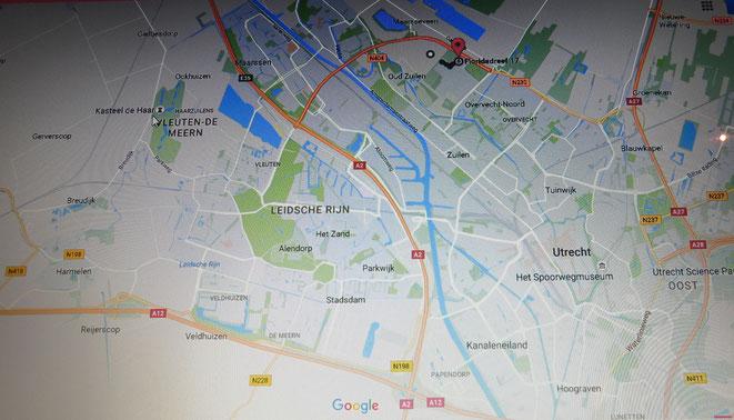 Komend vanaf  Den Haag, Den Bosch of Arnhem: