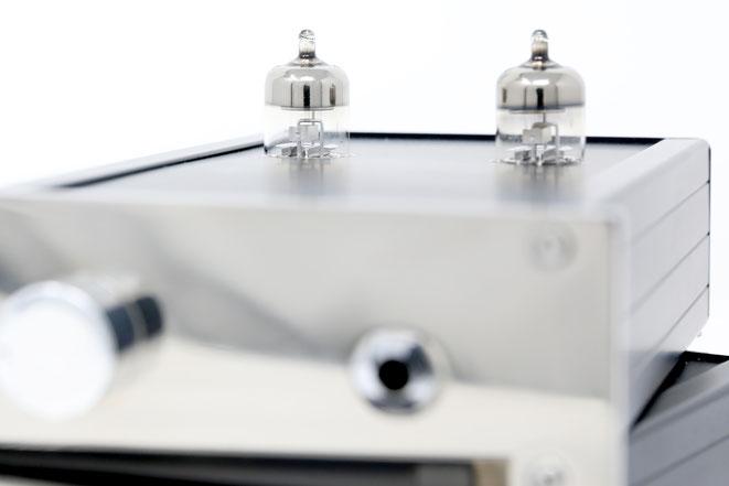 EGA Evergreen Audio High End Röhren Kopfhörerverstäreker Amp Rückseite