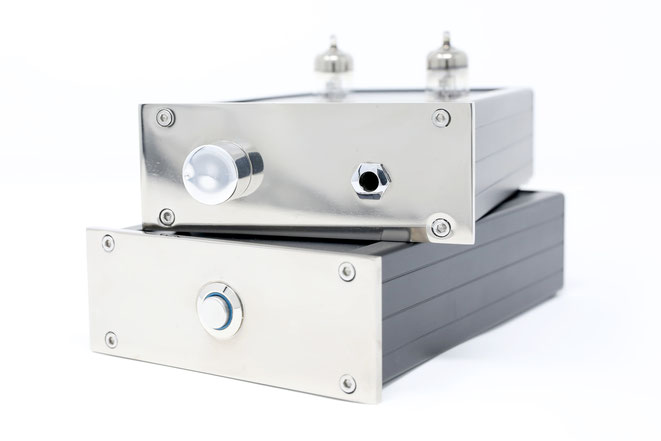 Evergreen Audio Kopfhörerverstärker mit Röhren HV-01