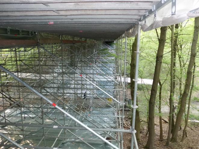 Bochum. Brückensanierung.