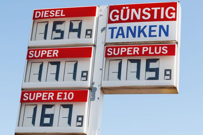 Tankstellenpreise; Wirtschaftsdetektiv Leipzig, Privatdetektei Leipzig, Detektivteam