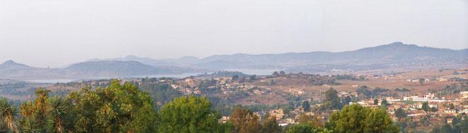 Vista del Valle desde el hotel