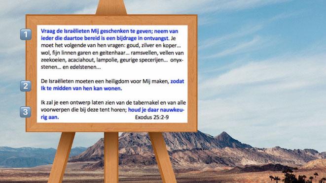 Exodus 25:2-9