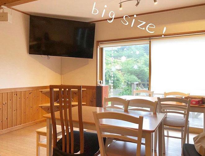 軽井沢の音楽スタジオです。