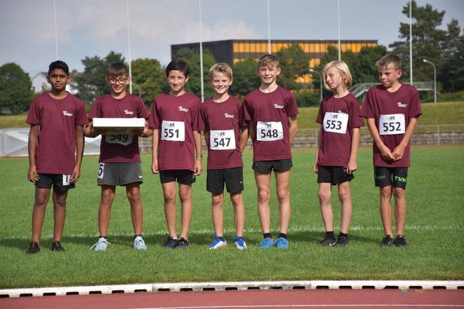 Auch bei den jüngsten Knaben der Kat. U12 m siegte das LZO-Team.