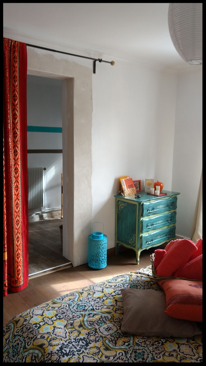 guestroom India at B&B Aoste, Isère