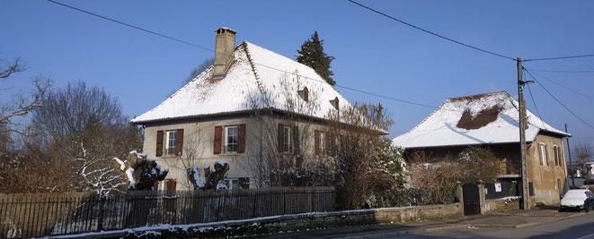 maison dauphinoise à Aoste