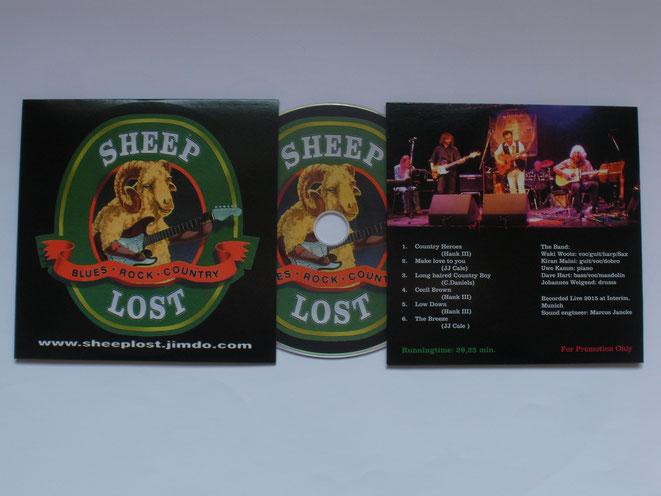 Die  Live-CD gibt es bei jedem Auftritt oder einfach eine Email schreiben.