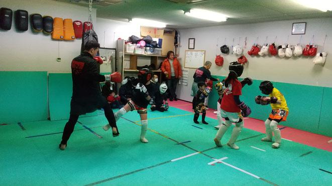奈良県のキックボクシング、teamYAMATO大和高田本部