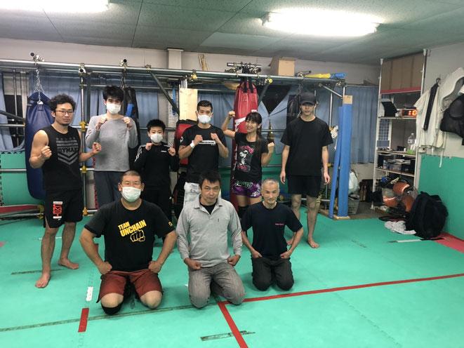 大阪よりキックボクシングの選手の出稽古ありました。
