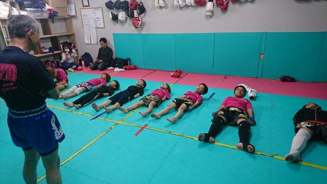 小学生、中学生、キックボクシング、奈良県、大和高田市、葛城市