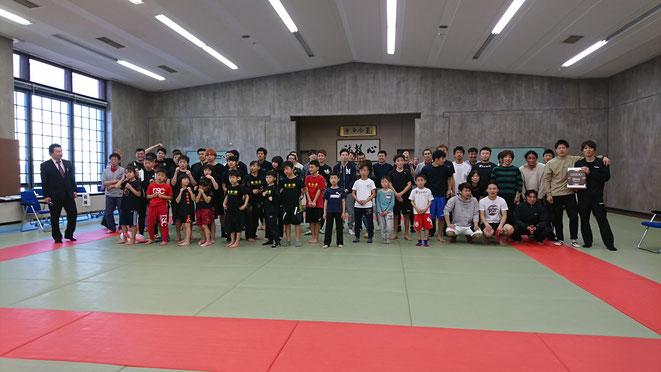 第5回健心塾スパーリング大会 閉会式 参加選手 teamYAMATO大和高田本部参加