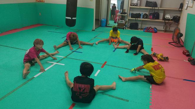 奈良県大和高田市、橿原市、御所市、葛城市、香芝市からキックボクシングの練習に来ています。